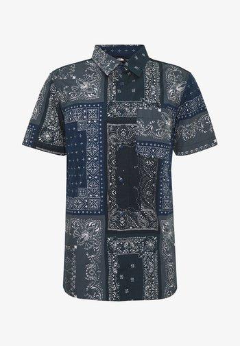 MEN'S BAYTRAIL PATTERN - Shirt - dark blue