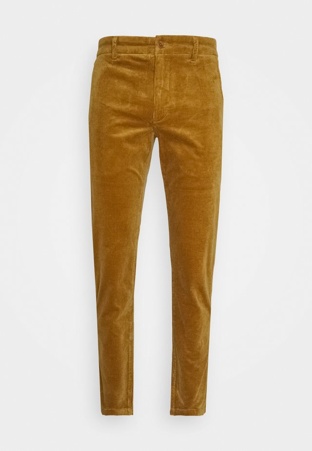 KARL  - Trousers - camel