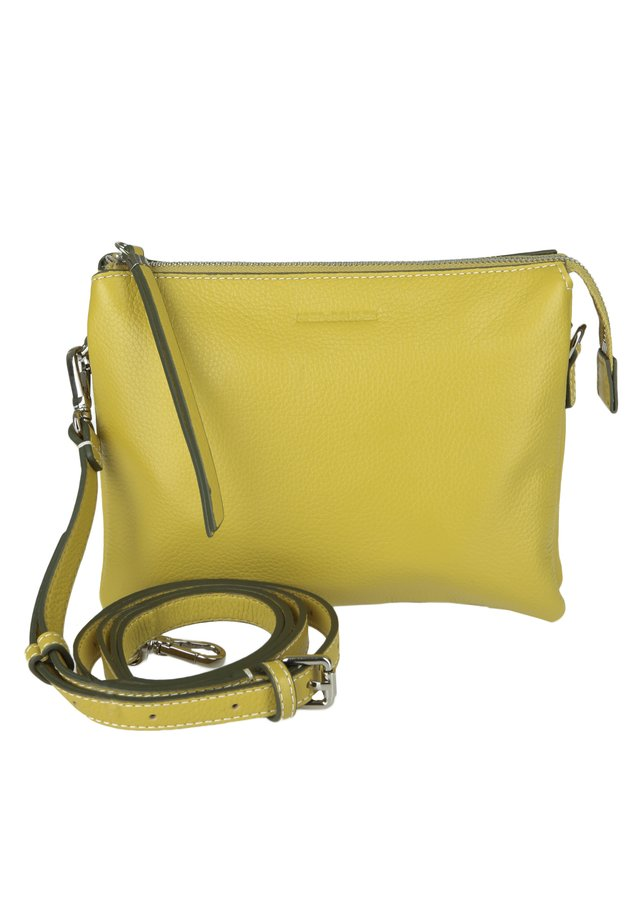 UMHÄNGETASCHE FERRARA - Across body bag - lemon