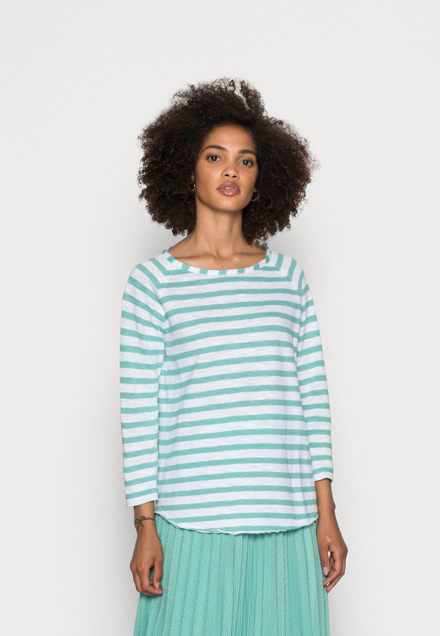 Women LONGSLEEVE STRIPED - Long sleeved top