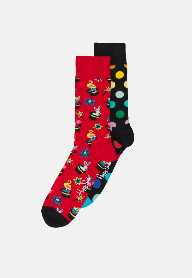 Happy Socks - MAGIC SOCK BIG DOT SOCK 2 PACK - Socks - multi