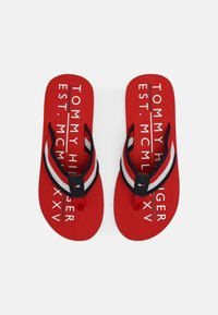 Tommy Hilfiger - T-bar sandals - primary red - 3