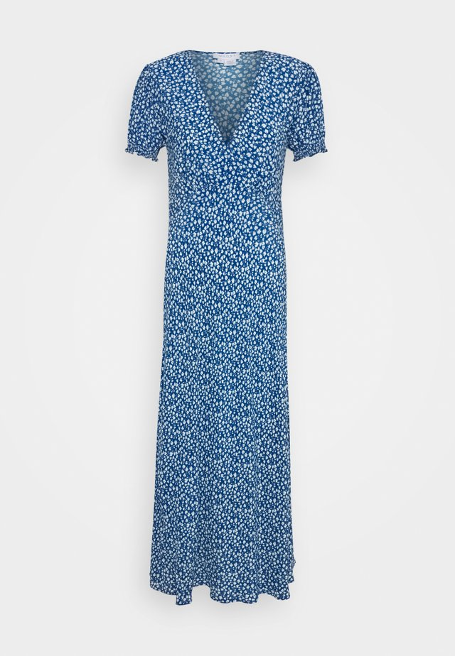 POET DRESS - Robe d'été - blue