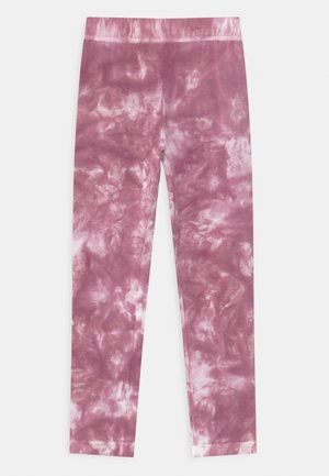 ELSA TIE DYE - Legíny - heather rose