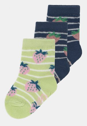 STRAWBERRY 3 PACK - Socks - dark blue