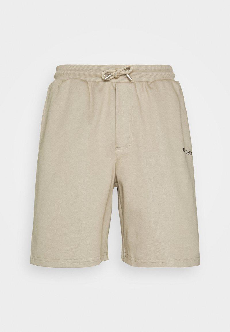 Les Deux - LENS - Shorts - dark sand/black