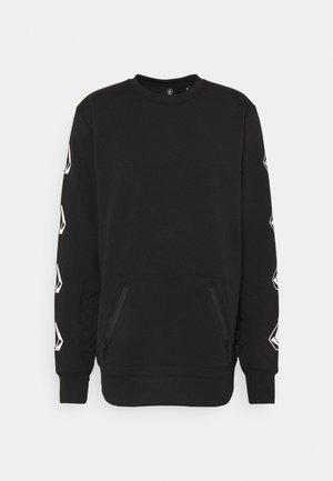 LET IT STORM CREW - Zip-up sweatshirt - black