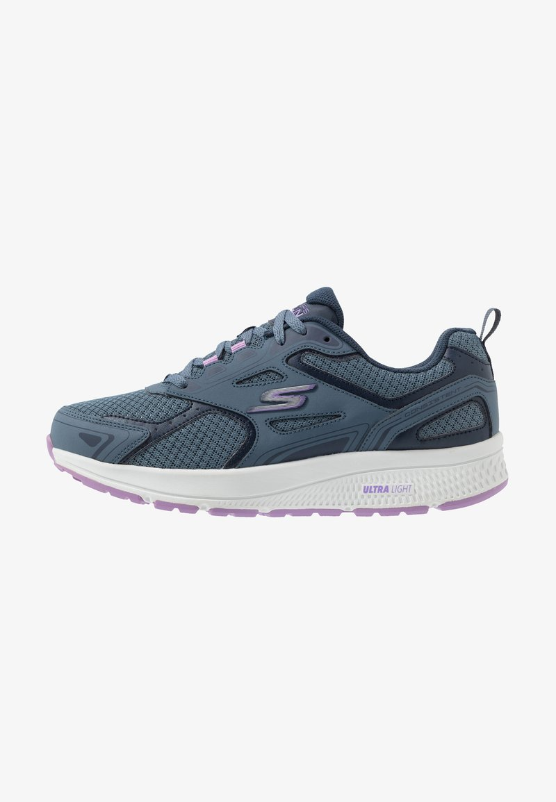 Skechers Performance - GO RUN CONSISTENT - Neutral running shoes - blue/purple