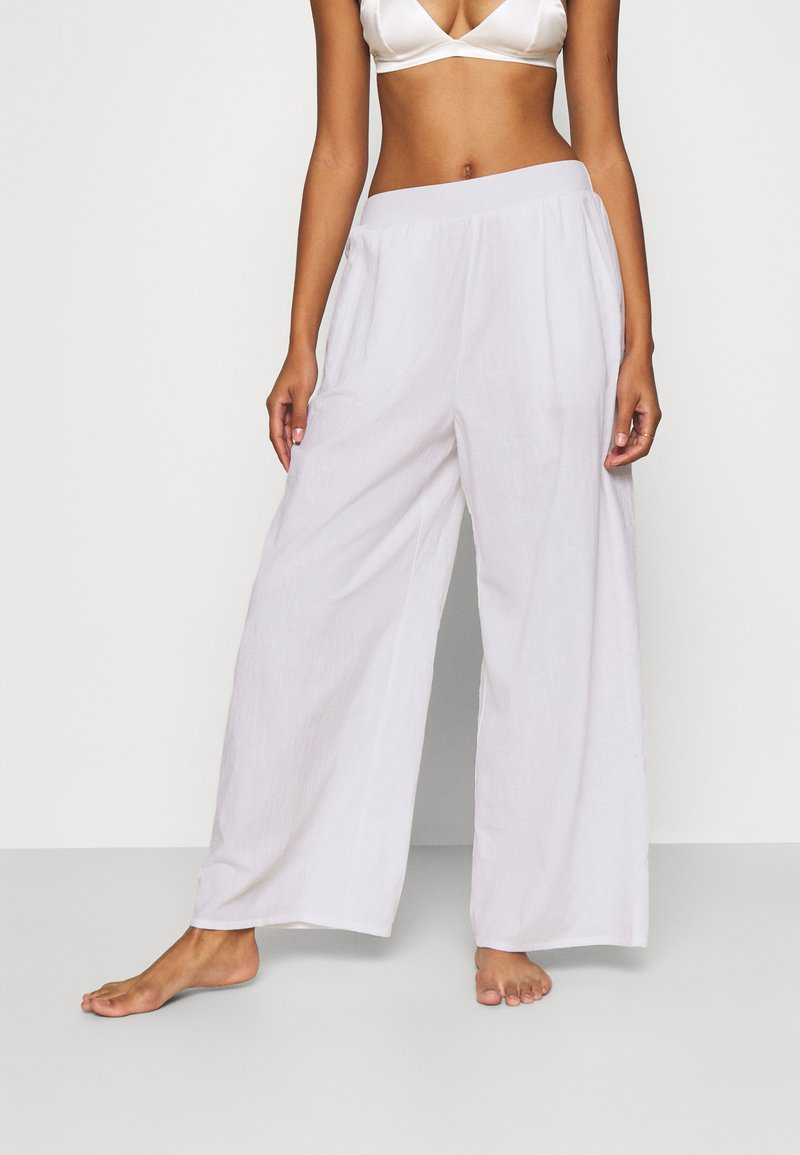 Cotton On Body - PALAZZO BEACH PANT - Beach accessory - white