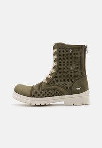 Mustang - Lace-up ankle boots - oliv - 1