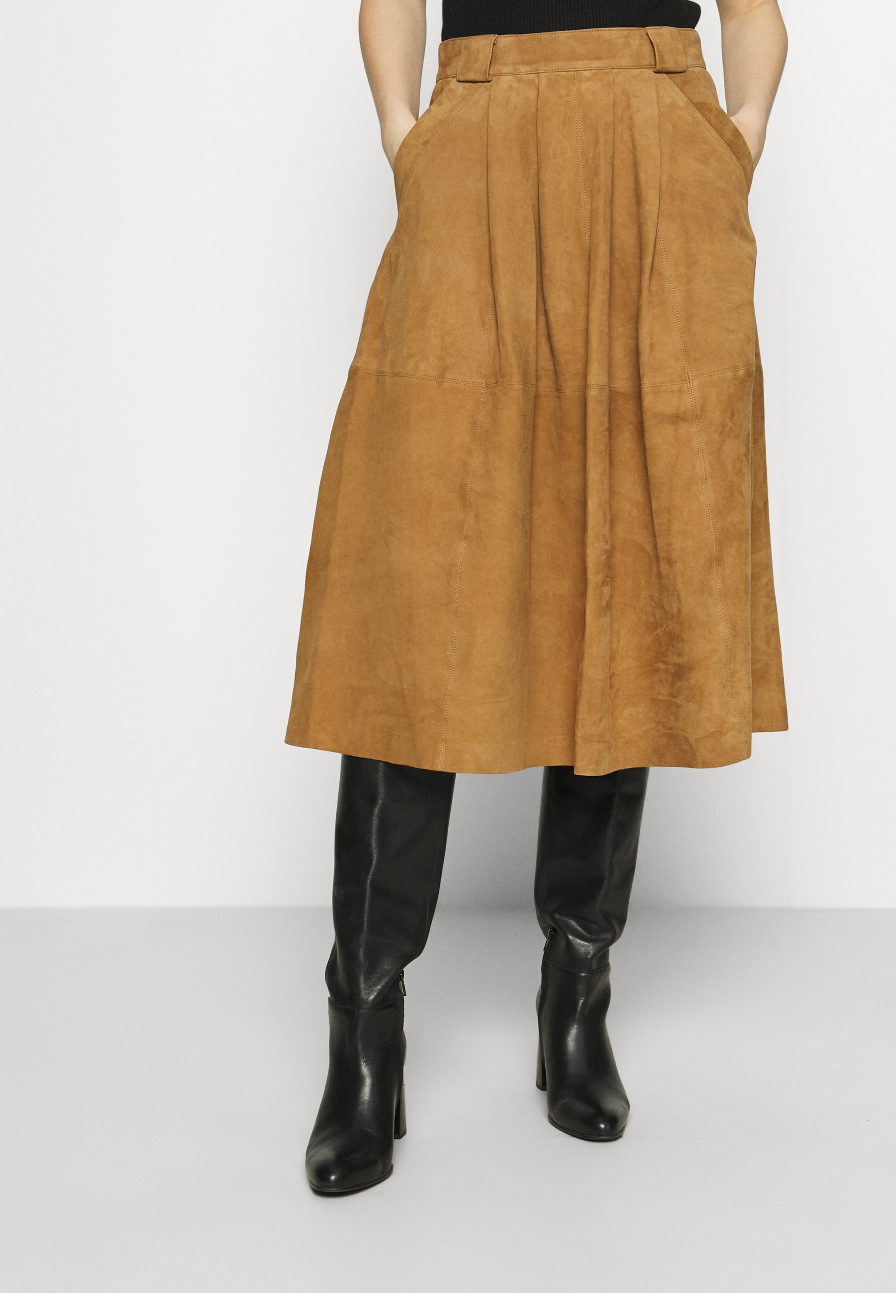 Women HEY DO - Leather skirt