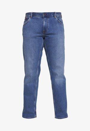 MADISON ALVIN - Jeansy Straight Leg - stone blue denim