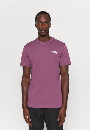 SIMPLE DOME TEE - Basic T-shirt - pikes purple