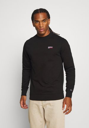 TJM WASHED CORP LOGO CREW - Sweatshirt - black