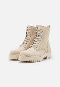 Steven New York - HAVARLY - Lace-up ankle boots - beige - 2