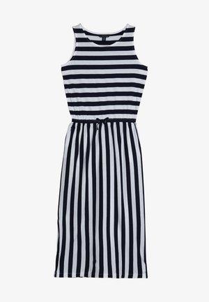 STRIPE MAXI - Maxi dress - white/french navy