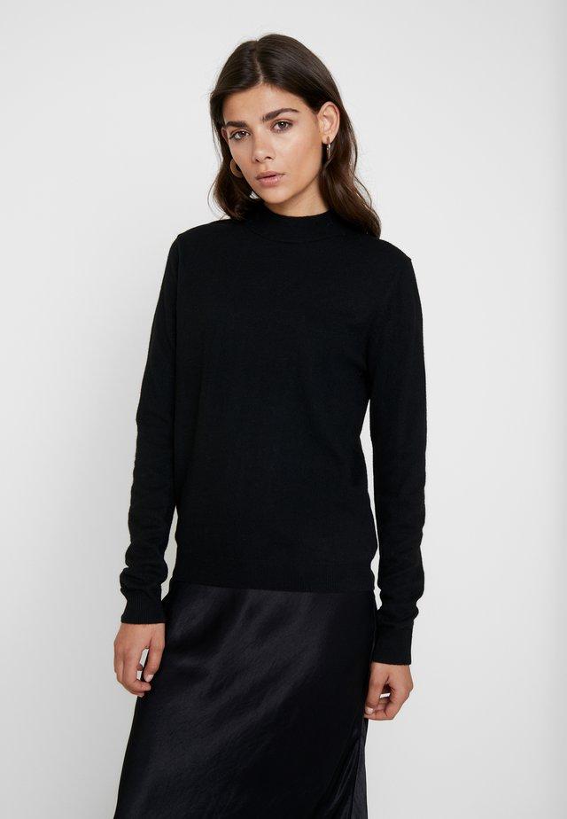 JAZEE - Strikpullover /Striktrøjer - black