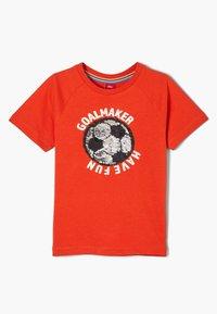 s.Oliver - T-shirt con stampa - dark orange - 3
