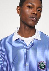 Polo Ralph Lauren - INTERLOCK FULL ESTATE - Shirt - court blue/white - 3