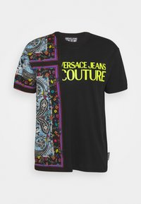 Versace Jeans Couture - MARK - Print T-shirt - nero - 5