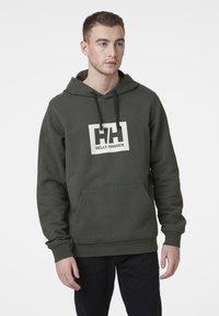 Helly Hansen - TOKYO  - Hoodie - oliv - 0