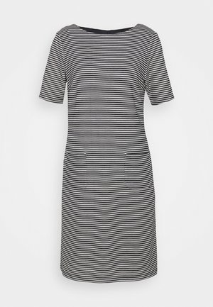 STRUCTURE DRESS - Jumper dress - marine/multicolor