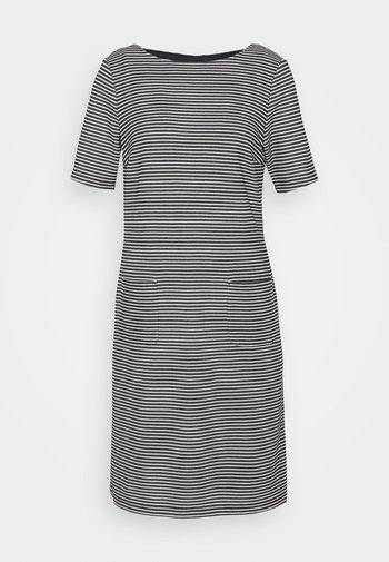 STRUCTURE DRESS - Jumper dress - marine/multicolor