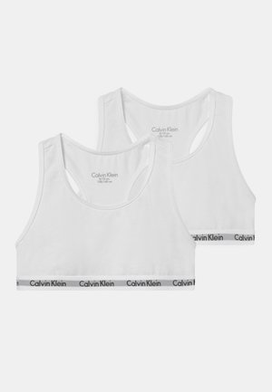 2 PACK - Bustier - white