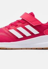 adidas Performance - RUNFALCON UNISEX - Neutral running shoes - power pink/footwear white - 5