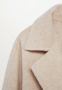 Mango - JOLIE - Płaszcz wełniany /Płaszcz klasyczny - ecru - 8