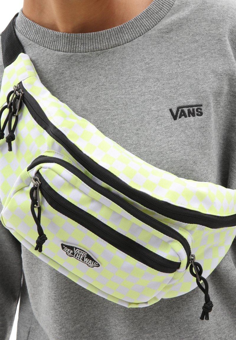 Vans - UA STREET READY WAIST PACK - Bum bag - sunny lime