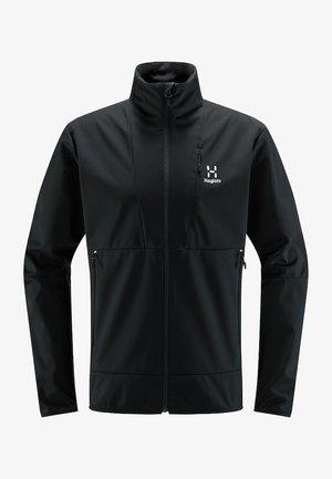 MULTI FLEX JACKET - Soft shell jacket - true black