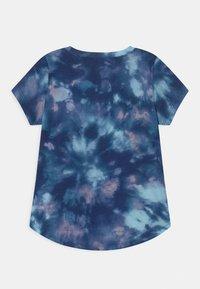 Abercrombie & Fitch - JAN CORE CREW  - Print T-shirt - blue - 1