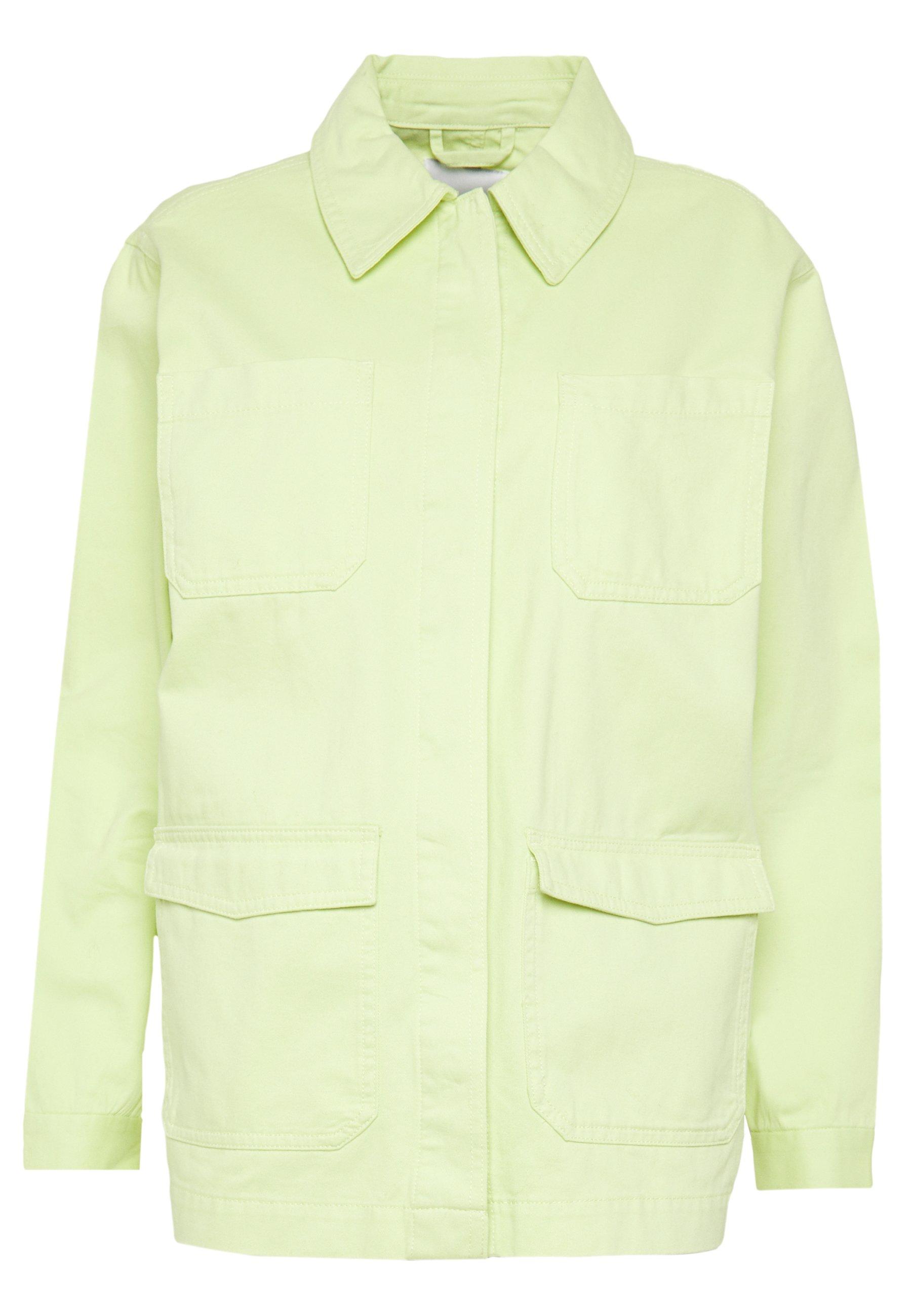 Monki HANNA JACKET Lett jakke light green Zalando.no