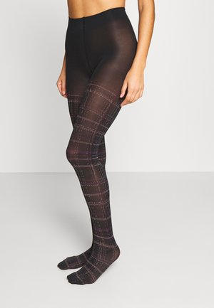 COUNTRY GLAM - Tights - black