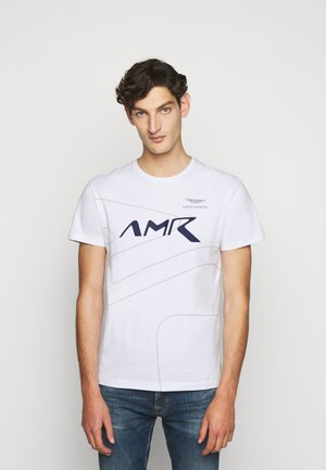 RACING LINES TEE - T-shirt basic - white