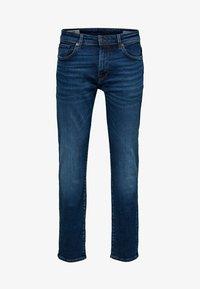 Selected Homme - Jeans straight leg - medium blue denim - 5