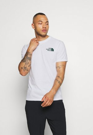 WALLS ARE MEANT FOR CLIMBING - T-shirt con stampa - white