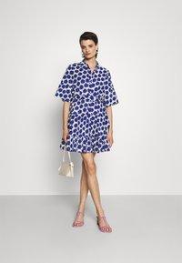 Diane von Furstenberg - BEATA DRESS - Shirt dress - true blue - 1