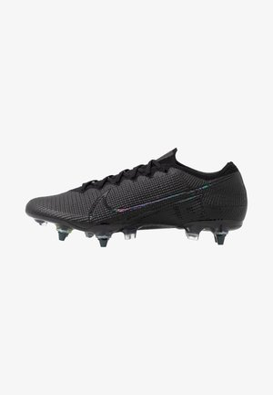 MERCURIAL VAPOR 13 ELITE SG-PRO AC - Screw-in stud football boots - black/matte silver/metallic cool grey/blue fury