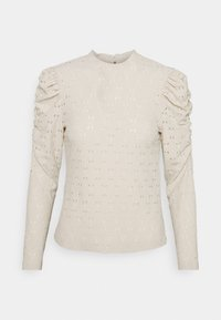 ONLY Petite - ONLROSALINE HIGHNECK PUFF - Blouse - pumice stone - 4