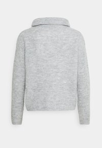 Anna Field - COWL NECK JUMPER - Jumper - mottled light grey - 1