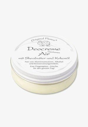 DEOCREME AIR MIT SHEABUTTER UND KOKOSÖL 40 G - Deodorant - weiß