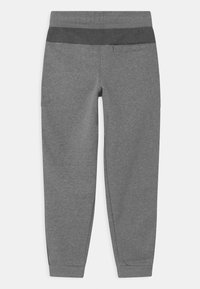 Nike Sportswear - AIR - Tracksuit bottoms - carbon heather/charcoal heathr/white - 1