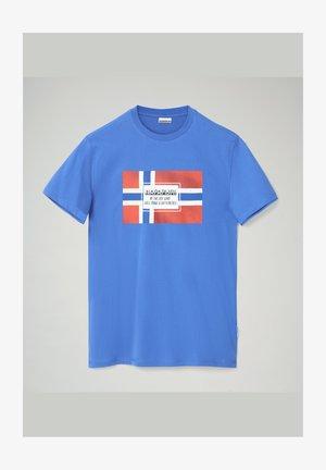 SERA - T-shirt z nadrukiem - blue dazzling