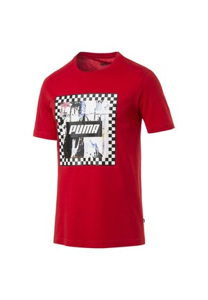 GRAPHIC - Print T-shirt - high risk red