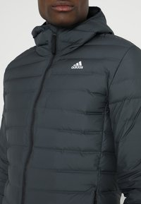 adidas Performance - VARILITE SOFT HOODED - Down jacket - carbon - 3