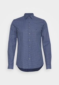 Calvin Klein Tailored - SMALL CHECK EASY CARE SLIM - Formal shirt - blue - 3
