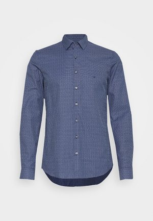 SMALL CHECK EASY CARE SLIM - Formal shirt - blue
