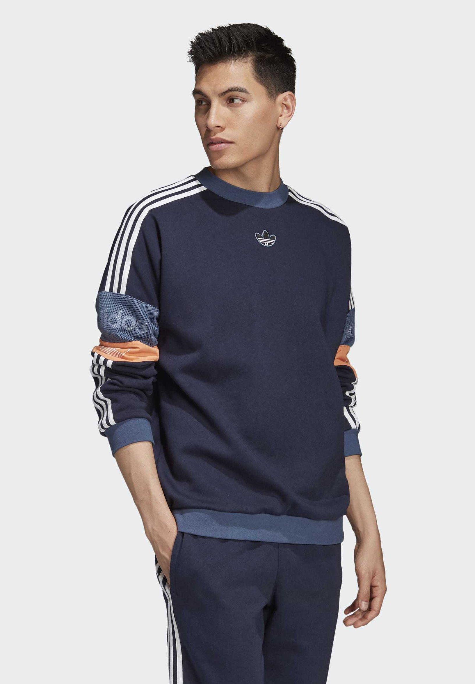 adidas Originals TS TREFOIL SWEATSHIRT Sweatshirt blue